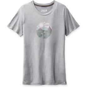 Smartwool Merino Sport 150 Skjorte Sunset Stream Grafik Damer, grå
